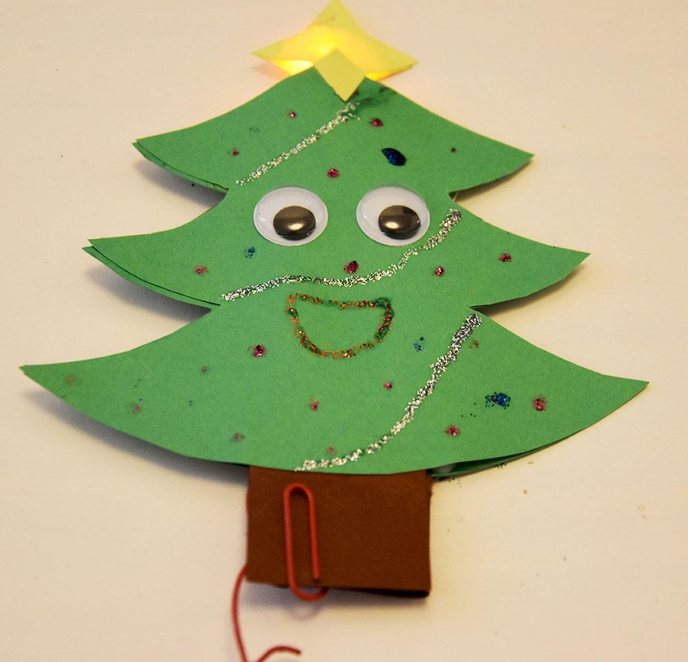 Voksenvejledning til lysende julepynt