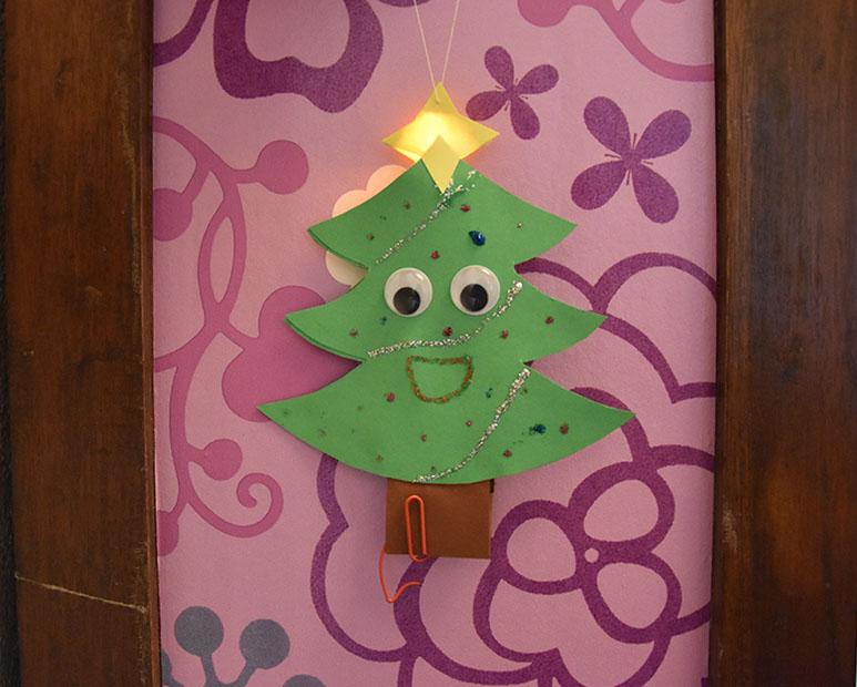 Lav selv: lysende julepynt