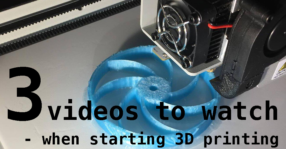 3 Maker's Muse videos to watch when starting 3D printing