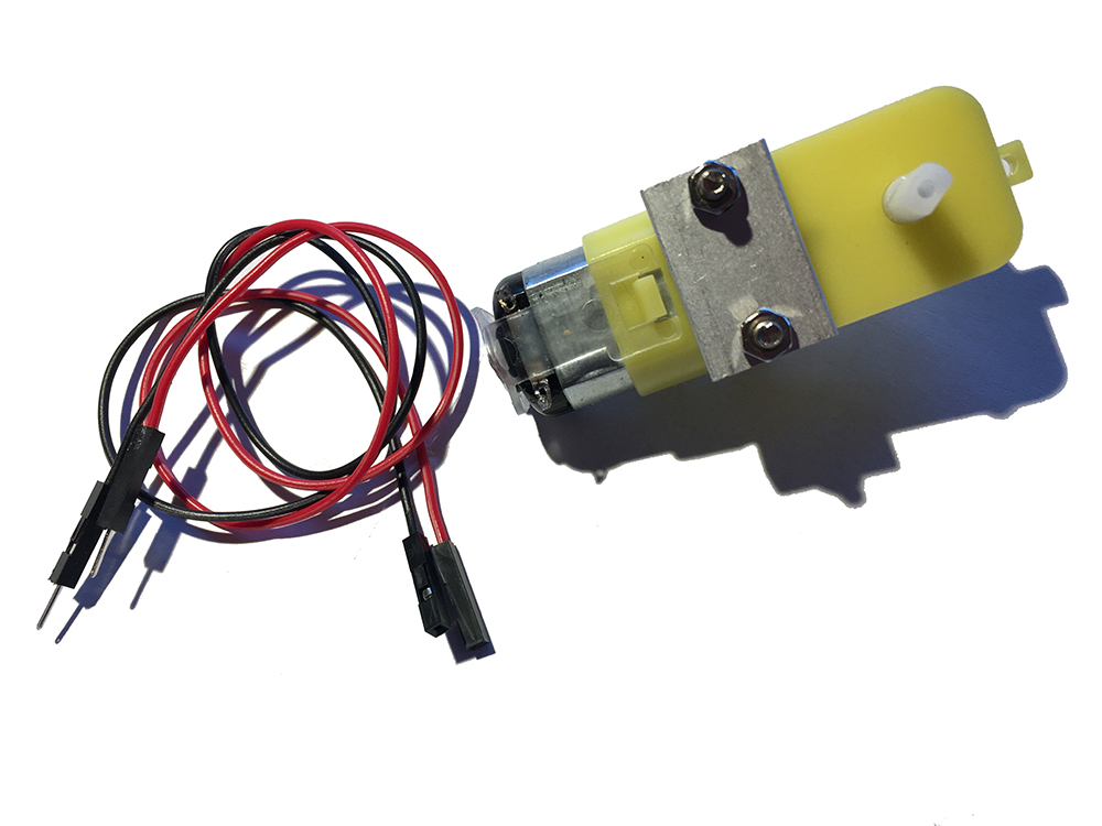 how to connect wires to dc motor