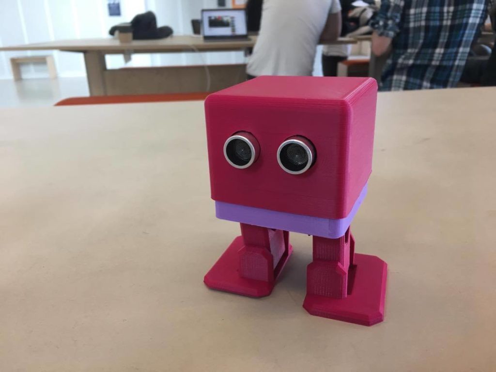 My first biped robot