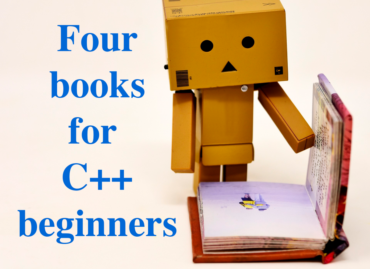 Four books for C++ beginners