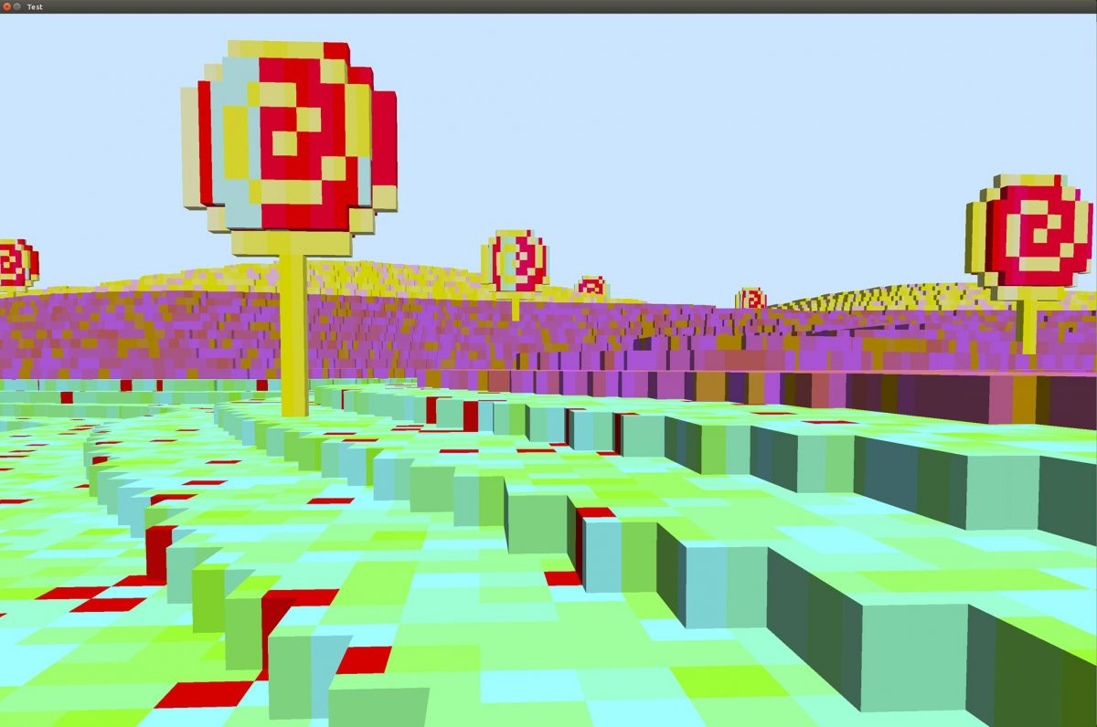 Tales From a Voxel World, part 1: Introduction and editing a texture at run time