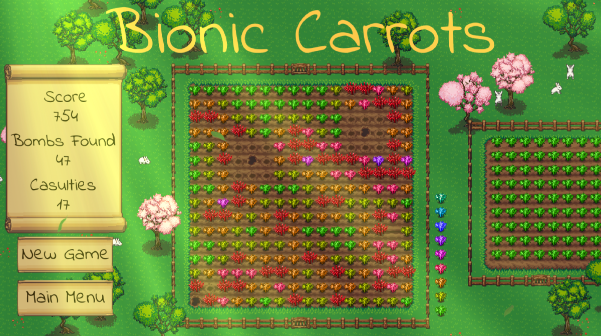3 Games in 6 Months, part 5: Releasing Bionic Carrots
