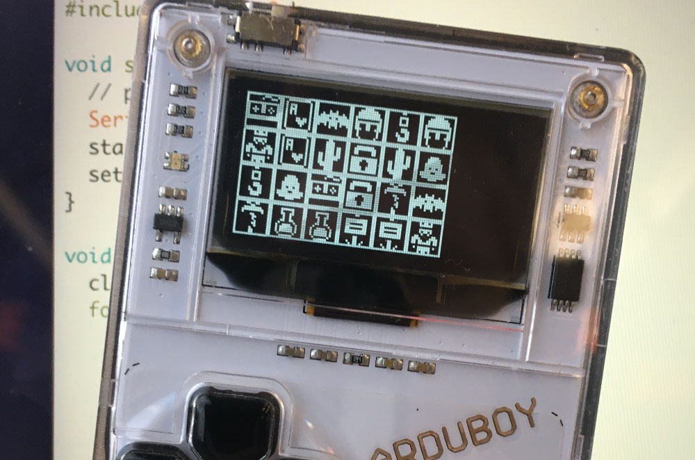 Arduboy Memory Game #3: Randomized Game Board